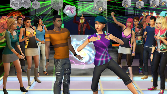 TS4 552 EP02 DJ DANCING 03 002. The Sims 4  Get Together   The Sims Wiki   FANDOM powered by Wikia