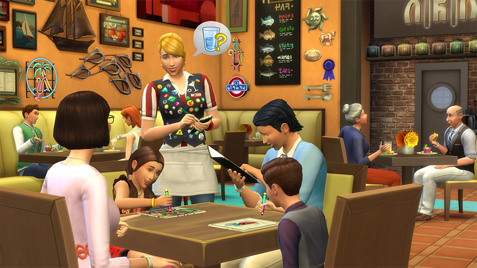 Game guide:How to run a Restaurant | The Sims Wiki | FANDOM powered
