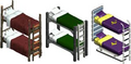 TSO Bunk beds