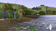 The Sims 3-Angler