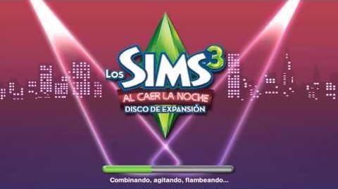 Pantalla de carga de Los Sims 3 Al Caer la Noche.mp4