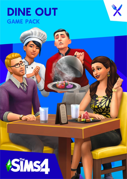 The Sims 4 Dine Out Cover