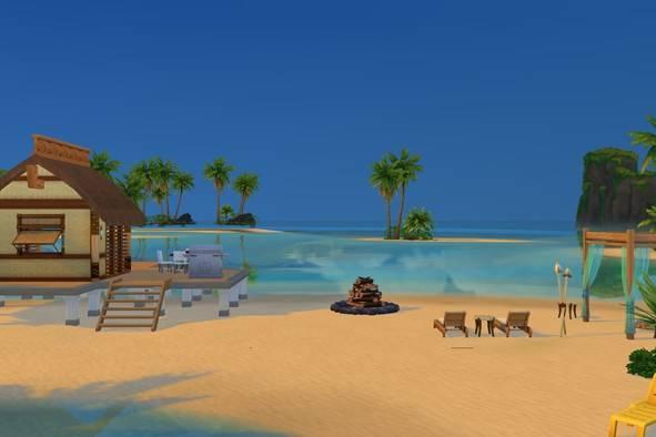 Песочный пляж «Симолеон»