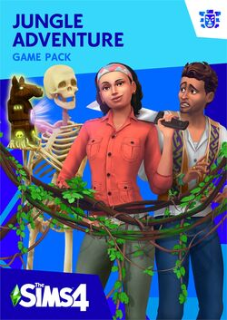 The Sims 4 Jungle Adventure Cover