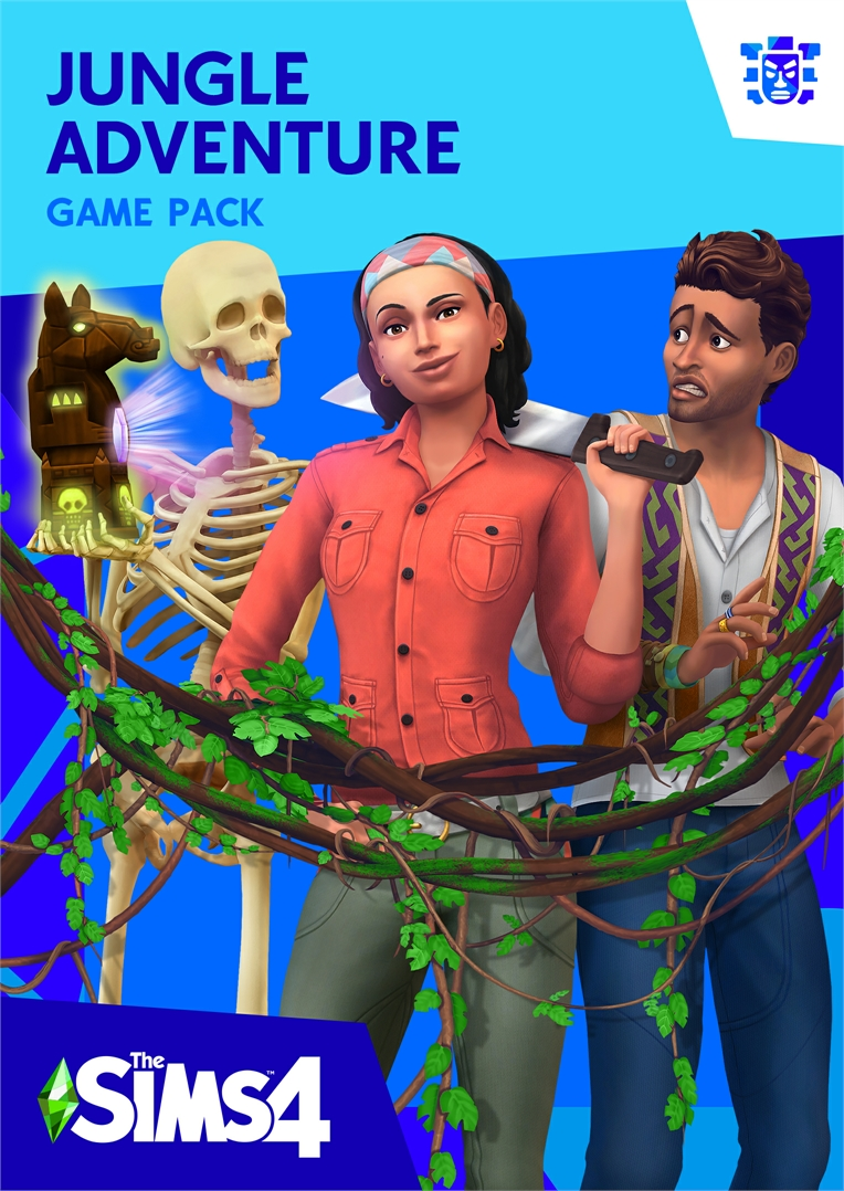Image result for 'The Sims 4 Jungle Adventure'.