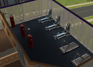 Teleprompter Apartments gym