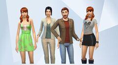 Famille Simpa (Les Sims 4)