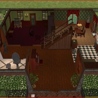Primer piso, entrada, salon, comedor, cocina y baño