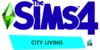 The Sims 4 City Living Logo