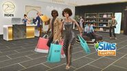 The Sims FreePlay Chic Boutique Update Trailer