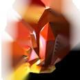 Crystal-orangetopaz