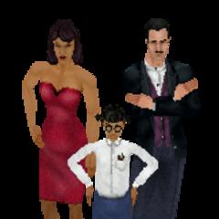 Familia Lápida en <i><a href=