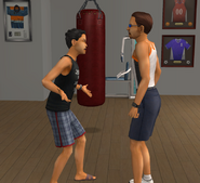 Julio and Thomas arguing