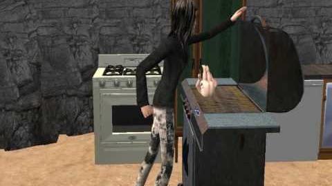 Los Sims 2 - Mamá cocinando a su bebé...