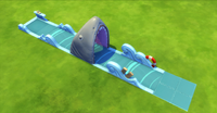 AAAHH! Jaws of Death - Lawn Water Slide