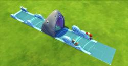 AAAHH! Jaws of Death - Lawn Water Slide