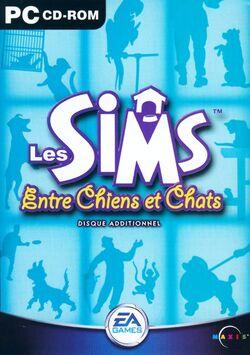 Jaquette Les Sims Entre Chiens et Chats