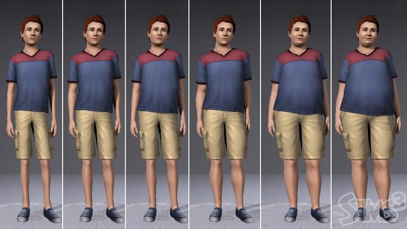 Weight loss dating sim