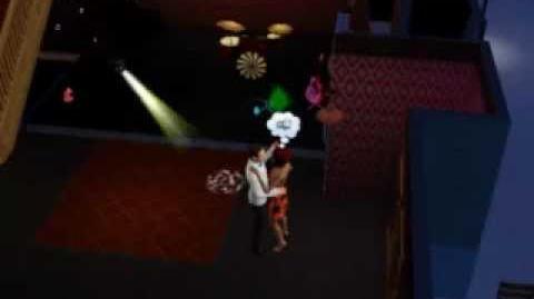 Sims 3 Bailando en Plasma 501
