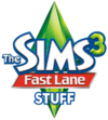 The Sims 3 Fast Lane Stuff Logo