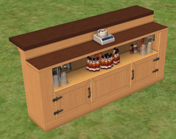 Ts2 double wood bar by romantic notions