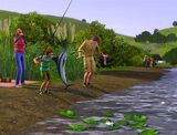 Fishing (The Sims 3)