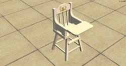 High Society High Chair - bear