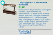 LollyGagger Bar - by Goldbrick Industries