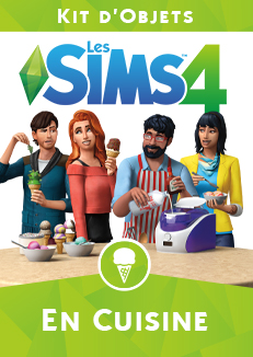 Packshot Les Sims 4 En Cuisine
