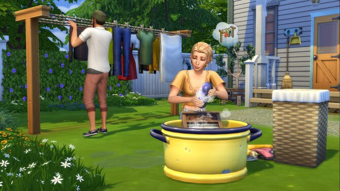 The Sims 4 - Laundry Day (1)