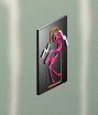 Ts1 neon flamingo sign
