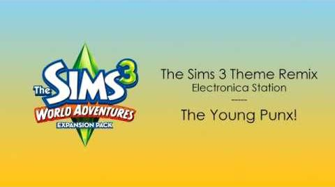 TS3 World Adventures OST - The Sims 3 Theme Remix (Electronica)