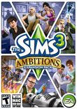 The Sims 3 Ambitions American box art