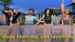 Good Morning San Myshuno Capa S1 V2