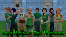 Good Morning San Myshuno Capa S2 V2