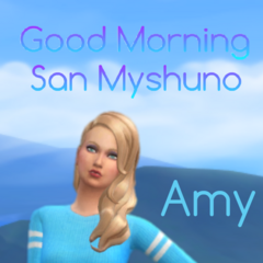 Poster da Amy.