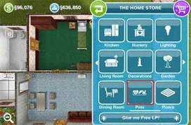 Sims home store