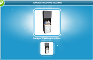 Garage Washing Machine
