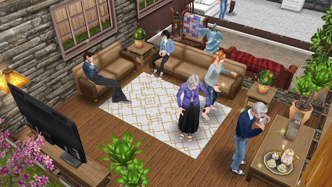 Seniors Life Stage The Sims Freeplay Wiki Fandom