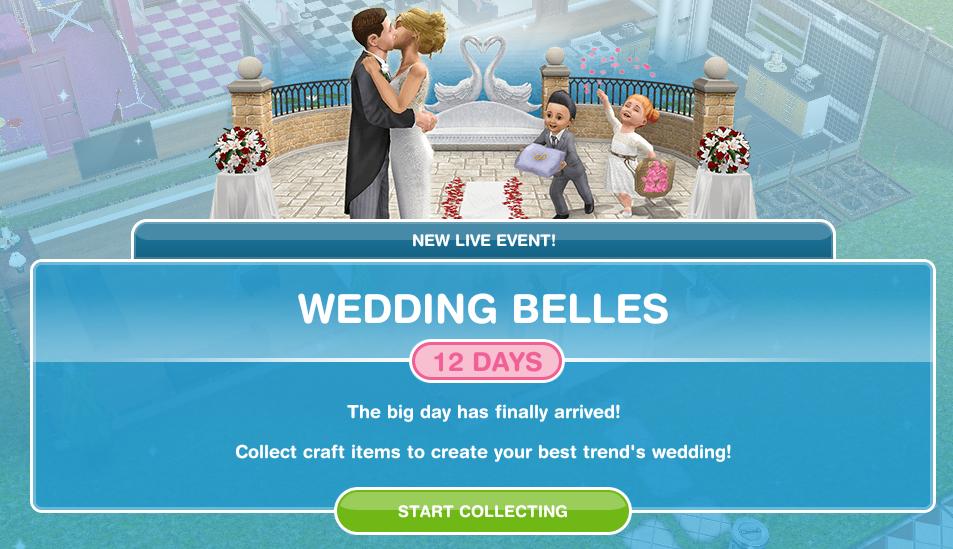 Wedding Belles The Sims Freeplay Wiki Fandom
