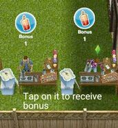 Collecting bonuses (2)