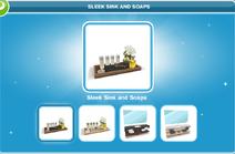 Sleek Sink and Soaps