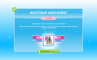 Boutique Hair Event The Sims Freeplay Wiki Fandom