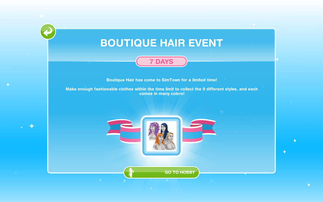 Boutique Hair Event | The Sims Freeplay Wiki | FANDOM powered by Wikia