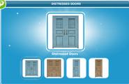 Distressed Doors