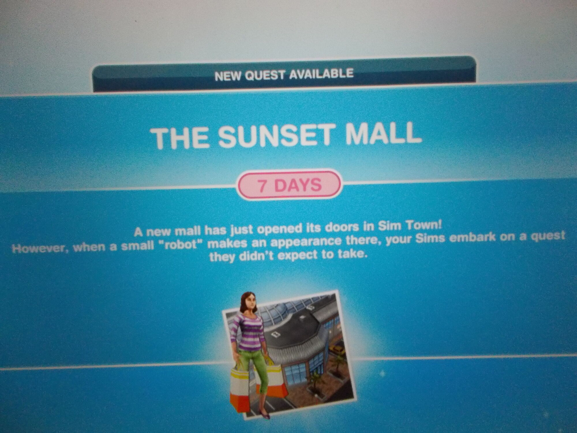 Wondrous Sunset Mall Quest The Sims Freeplay Wiki Fandom Download Free Architecture Designs Lectubocepmadebymaigaardcom