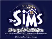 The Sims - Num Passe de Mágica (Tela de Carregamento)