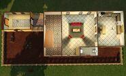 Casa Escondida, primeiro andar