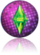 Ícone reflexo The Sims 3 Anos 70, 80, e 90
