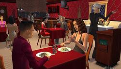 Restaurante Sims2